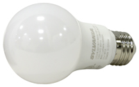 Sylvania 79284 Semi-Directional LED Bulb, 120 V, 8.5 W, Medium E26, A19