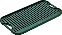 Lodge Pro-Grid LPGI3 Griddle, Iron, Black