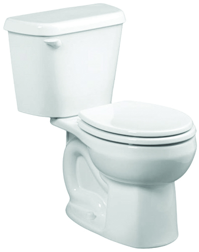 American Standard Colony 751DA001.020 Complete Toilet, Vitreous China, White