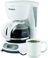 Mr. Coffee DR4-NP Simple Brew Coffee Maker, 4 Cups Capacity, 110 V, 700 W,