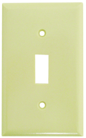 Eaton Wiring Devices 2134V-BOX Standard-Size Wallplate, 1-Gang, Thermoset,