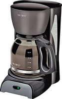 Mr. Coffee SK13-RB Classic Coffee Maker, 12 Cups Capacity, 900 W, Black