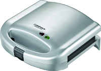 Cuisinart WM-SW2 Sandwich Grill, Iron Cooking Surface