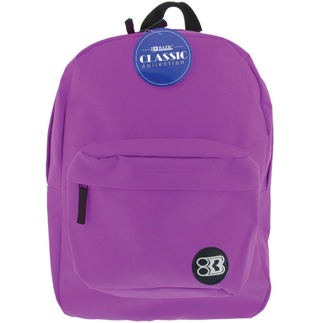 "BAZIC 17"" PURPLE CLS BACKPACK"