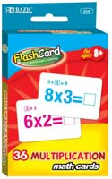 BAZIC MULTIPLICATION FLASH CARDS