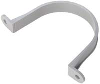 "CA PVC PIPE CLAMP 4"" 2HOLE"