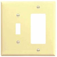 CW WALLPLATE DECOR 1G #2151V