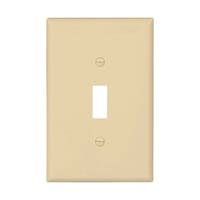 CW WALLPLATE 1G TOGGLE POLY IVY