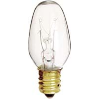 BULB CANDELABRA 4C7 CLEAR #S3797