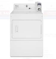 Whirlpool 7.4 cu. ft. 240 Volt White Commercial Electric Vented