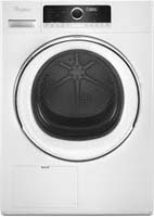 Whirlpool 4.3 cu. ft. White Compact Stackable Heat Pump Ventless Dryer -