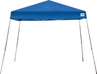 Seasonal Trends Angled Leg Instant Canopy, 10 Ft L X 10 Ft W, Blue