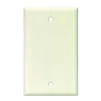 Arrow Hart 2129 Series 2129W-BOX Wallplate, 1-Gang, Polycarbonate, Brown