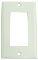 Arrow Hart 2151 Series 2151W-BOX Standard-Size Wallplate, 1-Gang, Thermoset,